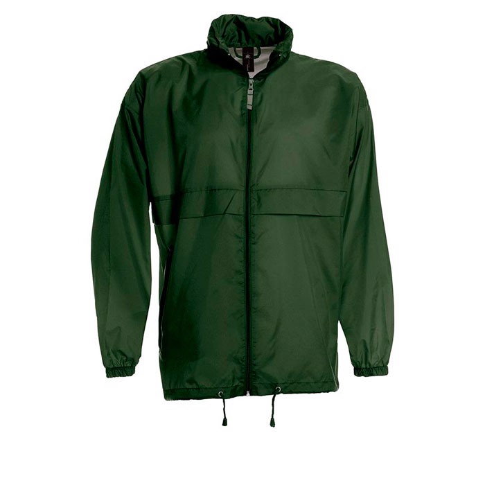 Herren Windbreaker 70 g/m2 Windbreaker Sirocco Ju800 - Bottle Green / L