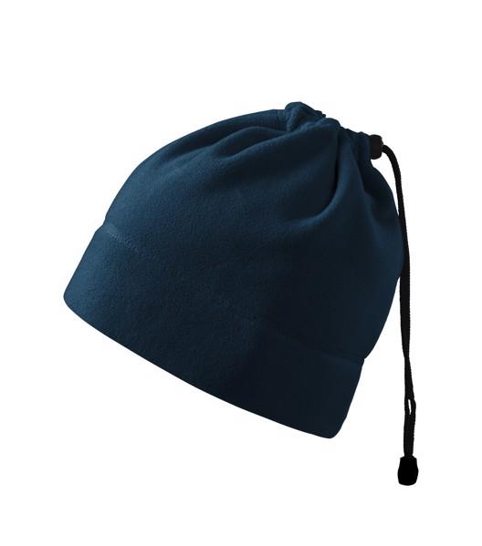 Fleece čepice unisex Malfini Practic - Námořní Modrá / uni