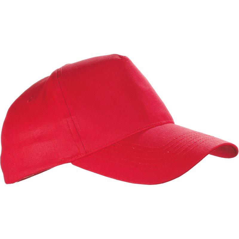 Czapka z daszkiem Coimbra - Czerwony