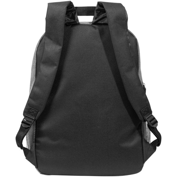 "Hoss 15"" laptop backpack - Heather medium grey"
