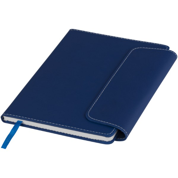 Horsens A5 notebook with stylus ballpoint pen - Blue