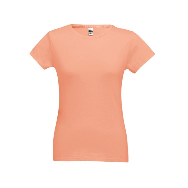 SOFIA. Women's t-shirt - Salmon / XXL