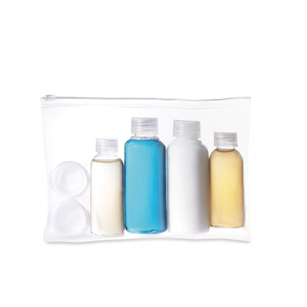 Travelling pouch with bottles Airpro