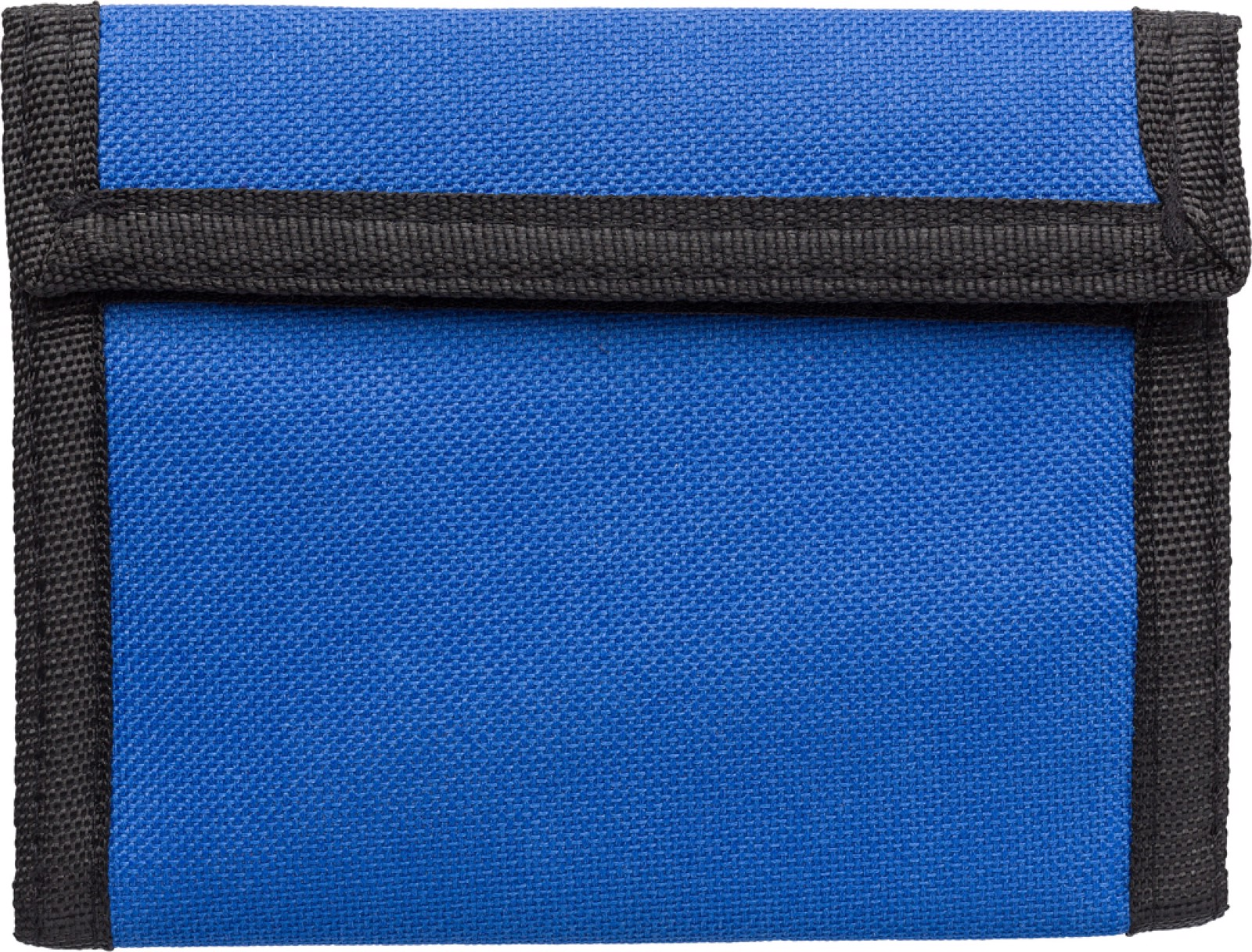 Polyester (190T + 600D) wallet - Cobalt Blue