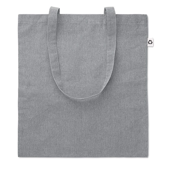 140gr/m² recyled fabric bag Cottonel Duo - Grey