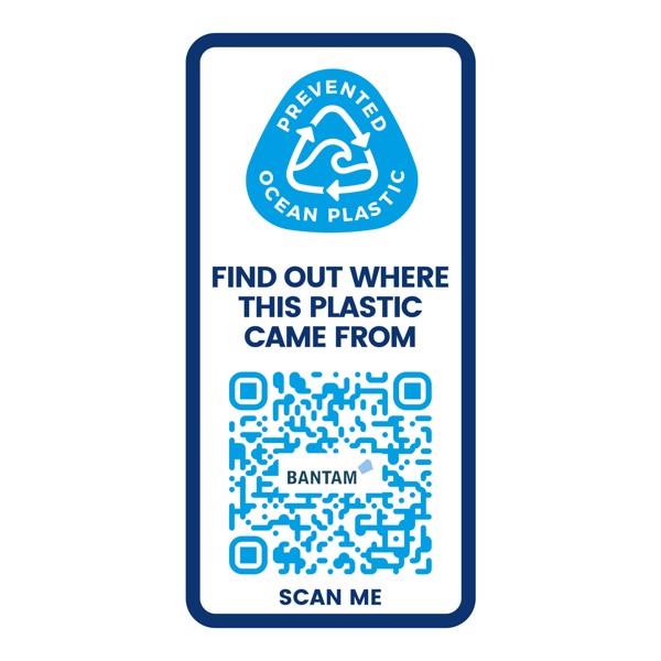 H2O Eco 650 ml spout lid sport bottle - Blue