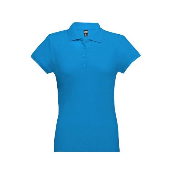 EVE. Γυναικεία πόλο μπλούζα - Μπλε Acqua / L
