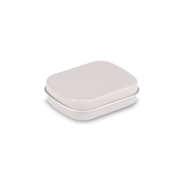 Plechovka s mentolkami Brise - white
