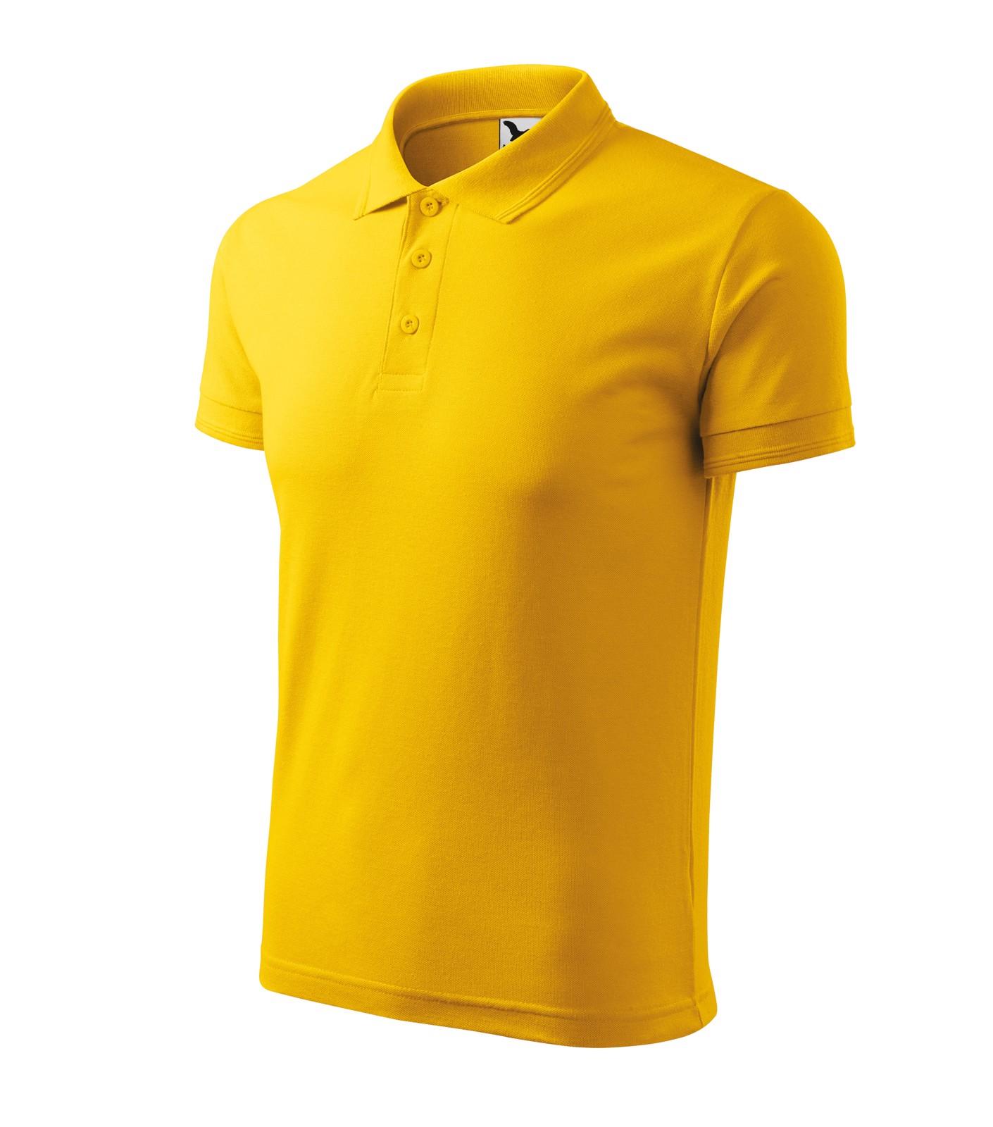 Polokošile pánská Malfini Pique Polo - Žlutá / 2XL