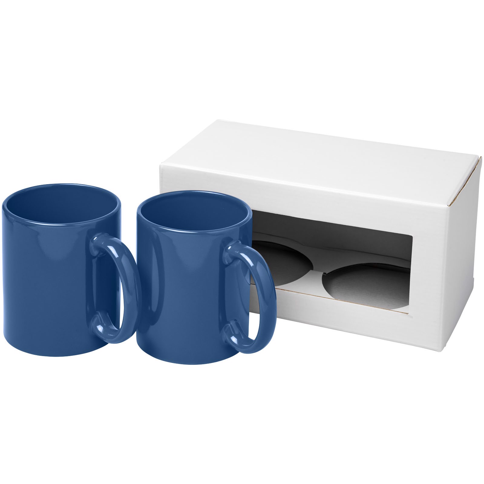 2-częściowy zestaw upominkowy Ceramic - Niebieski