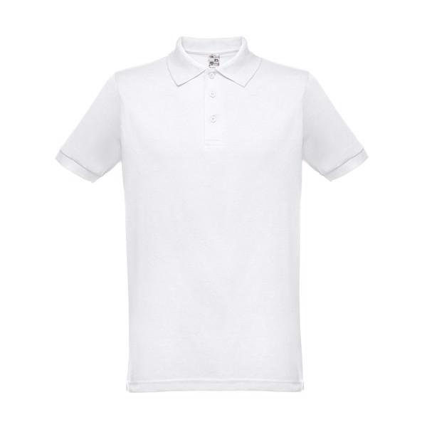 BERLIN. Herren Poloshirt - Weiß / S