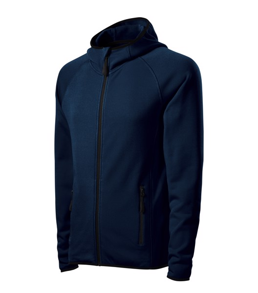 Stretch fleece pánský Malfini Direct - Námořní Modrá / XL