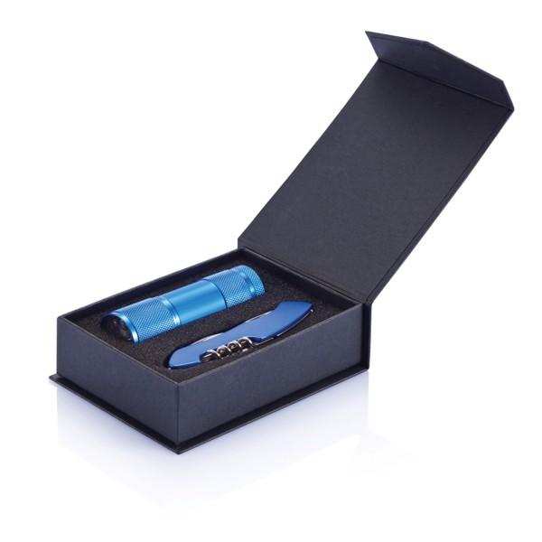 Quattro outdoor készlet - Kék