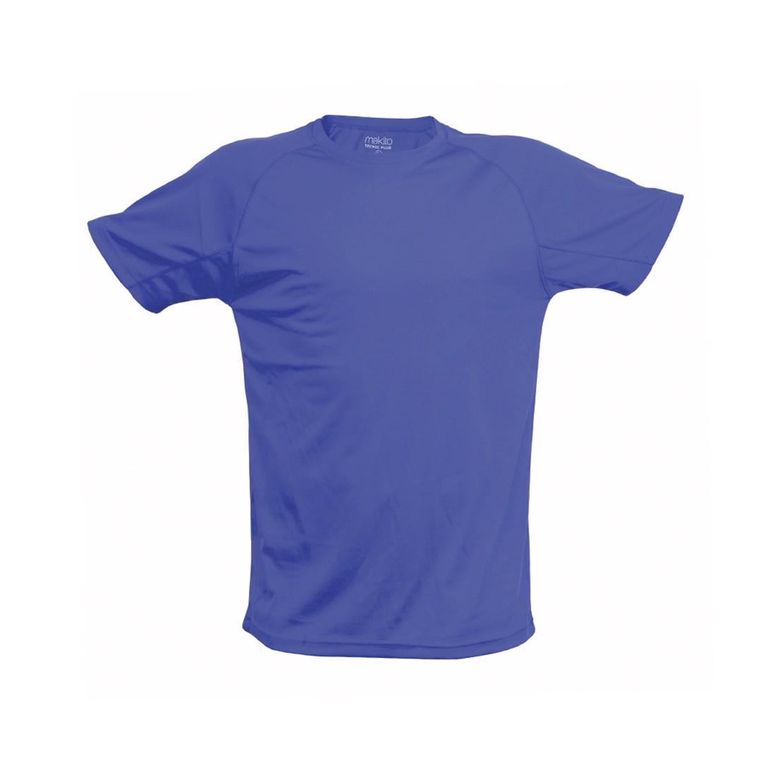 Camiseta Adulto Tecnic Plus - Azul / XXL