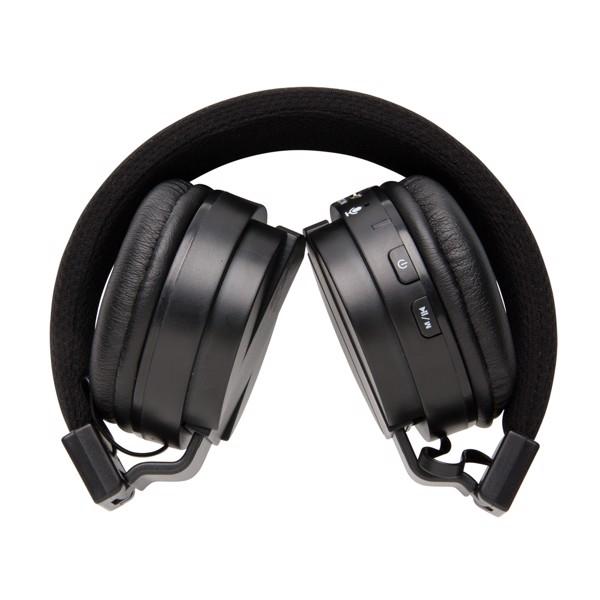 Összecsukható vezeték nélküli fejhallgató - Fekete