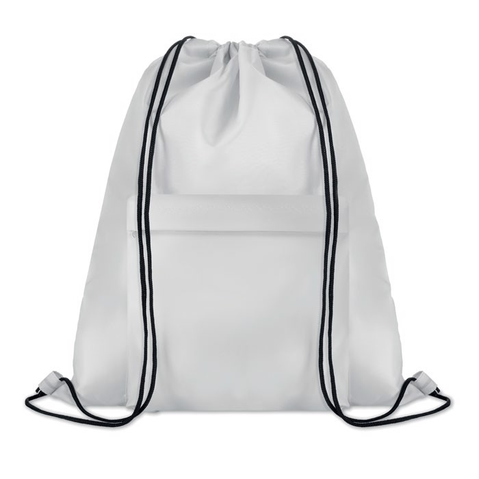 Large drawstring bag Pocket Shoop - White