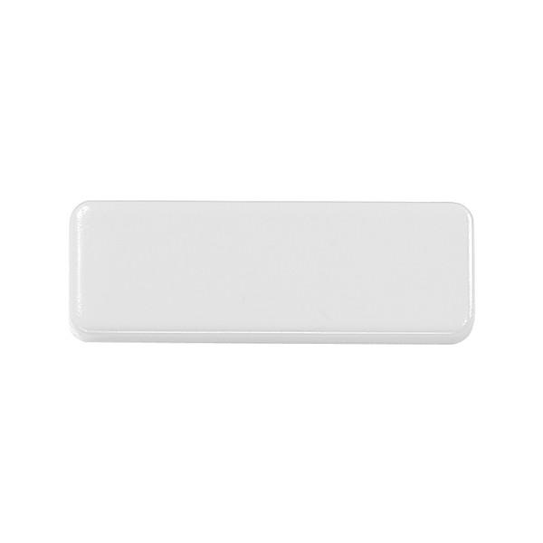 """Magnet """"Oblong Mini"""" - White"""