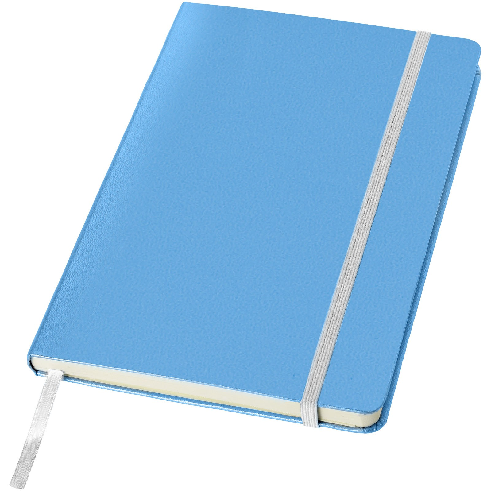 Poznámkový blok Classic A5 s pevnou obálkou - Světle modrá