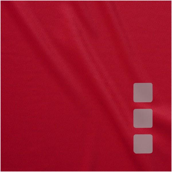 Dětské triko Niagara s krátkým rukávem, s povrchovou úpravou - Red / 104