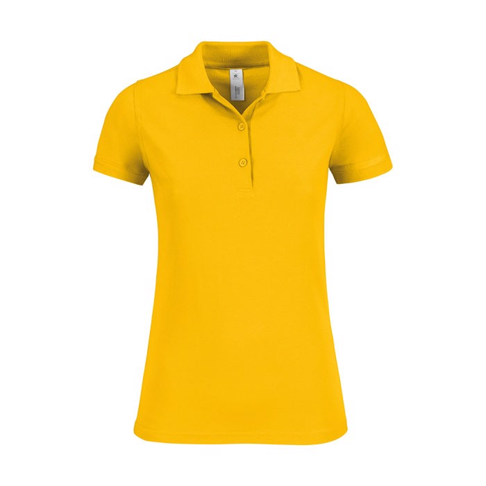 Ladies Polo Shirt 180 g/m2 Safran Timeless Women - Gold / M