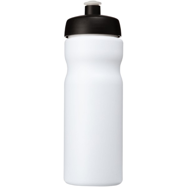 Baseline® Plus 650 ml Sportflasche - Weiss / Schwarz