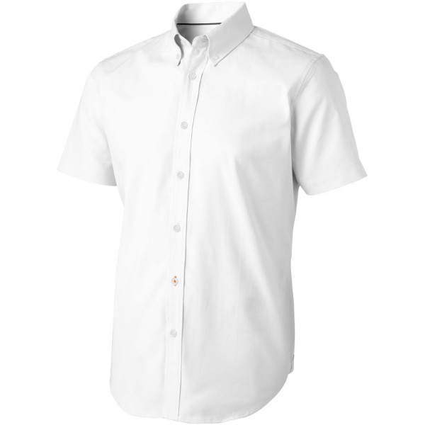 Manitoba short sleeve shirt - White / XS
