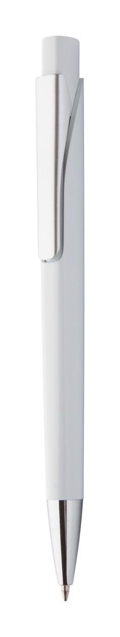 Kuličkové Pero Silter - Bílá