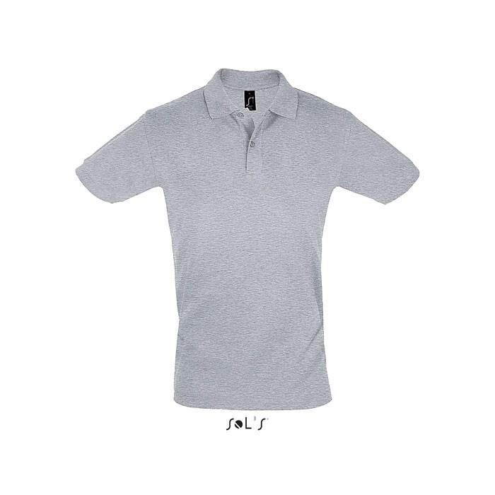 PERFECT POLO HOMBRE 180g Perfect Men - gris mezcla / L