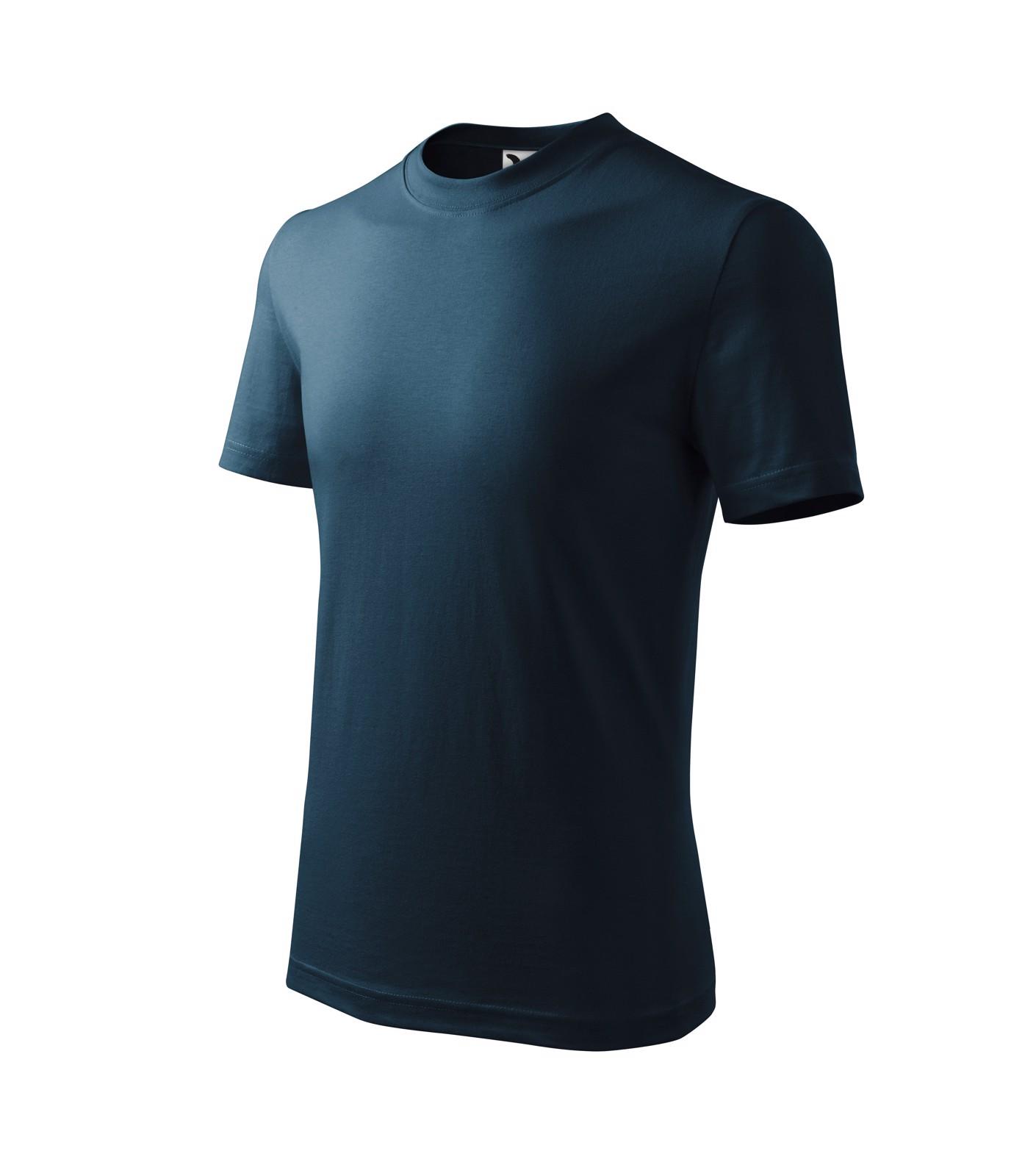 Tričko dětské Malfini Basic - Námořní Modrá / 158 cm/12 let