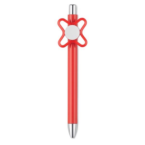 Długopis ze spinnerem Molino - czerwony