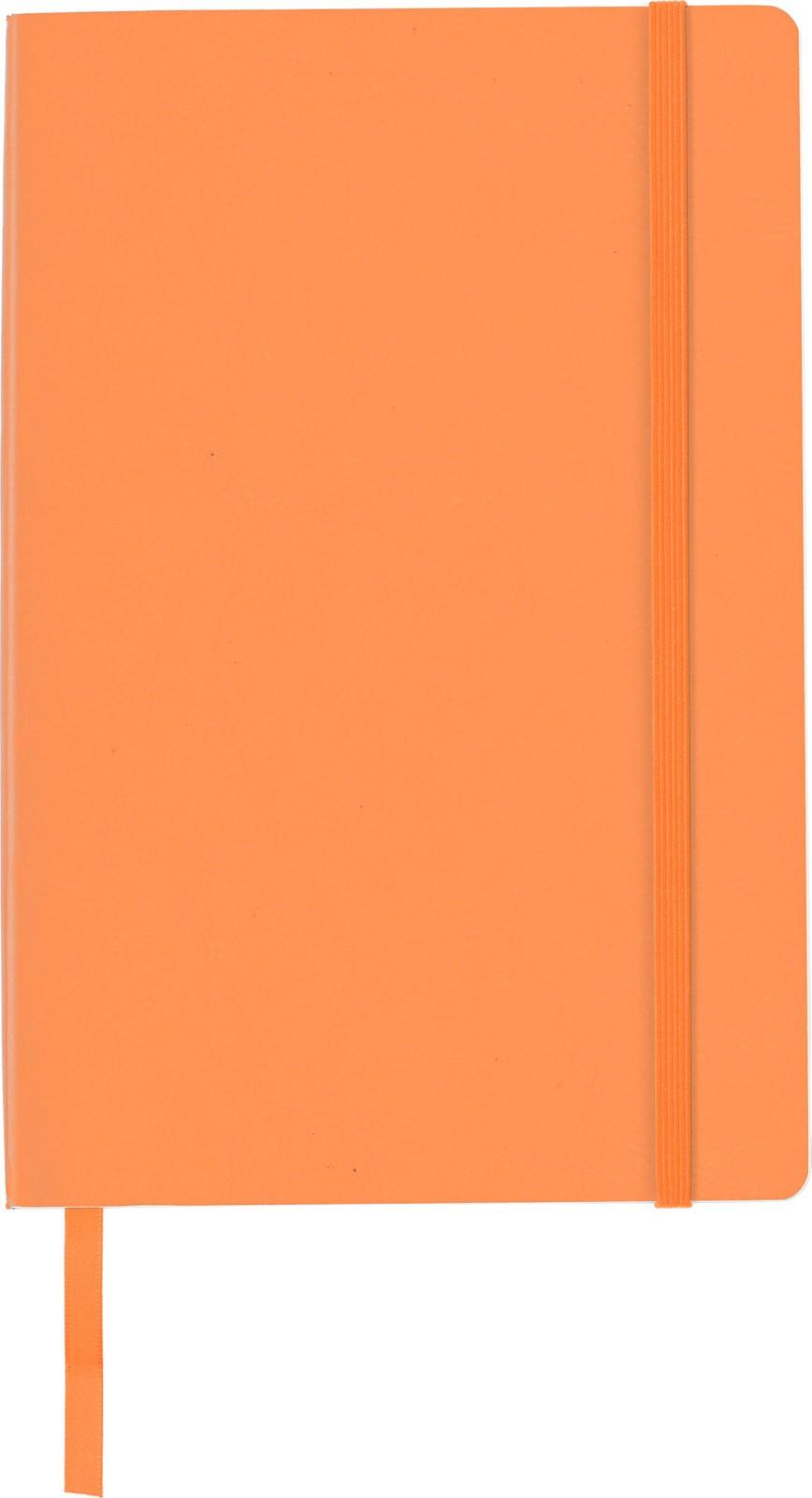 PU notebook - Orange