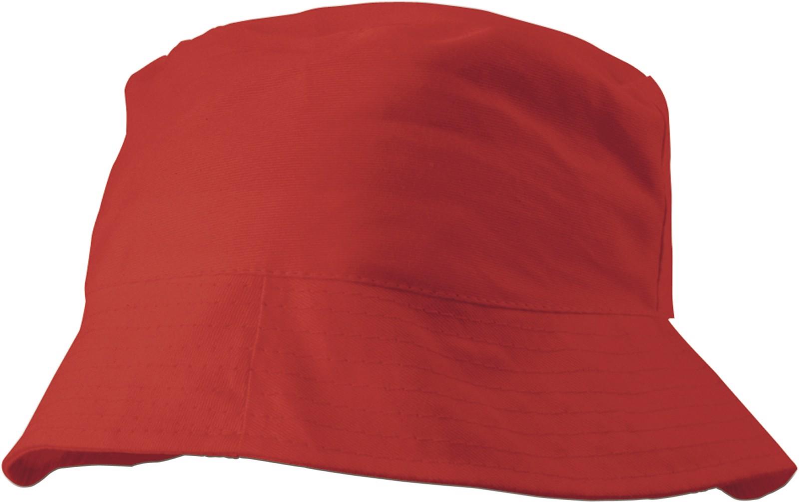 Cotton sun hat - Red