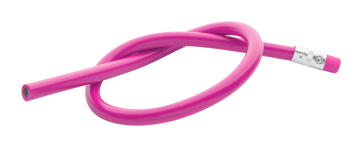 Ohebná Tužka Flexi - Růžová