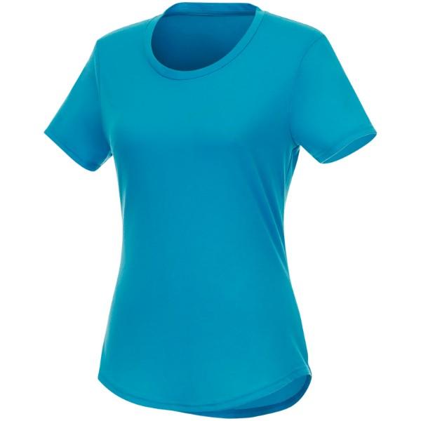 Recyklované dámské tričko s krátkým rukávem Jade - NXT modrá / XS