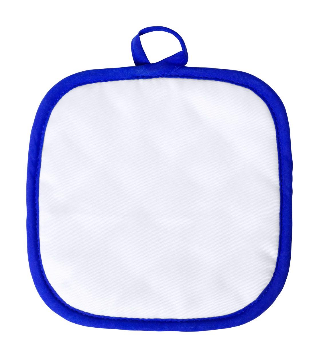 Kuchyňská Chňapka Kalmont - Bílá / Modrá