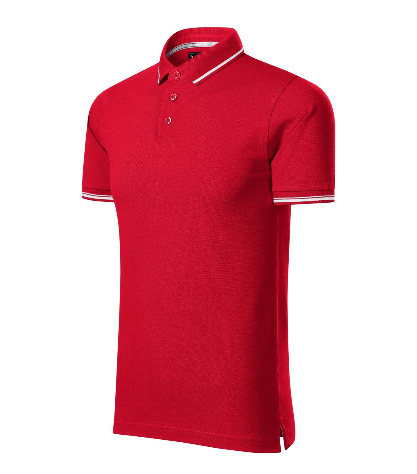 Polo Shirt men's Malfinipremium Perfection plain - Formula Red / L