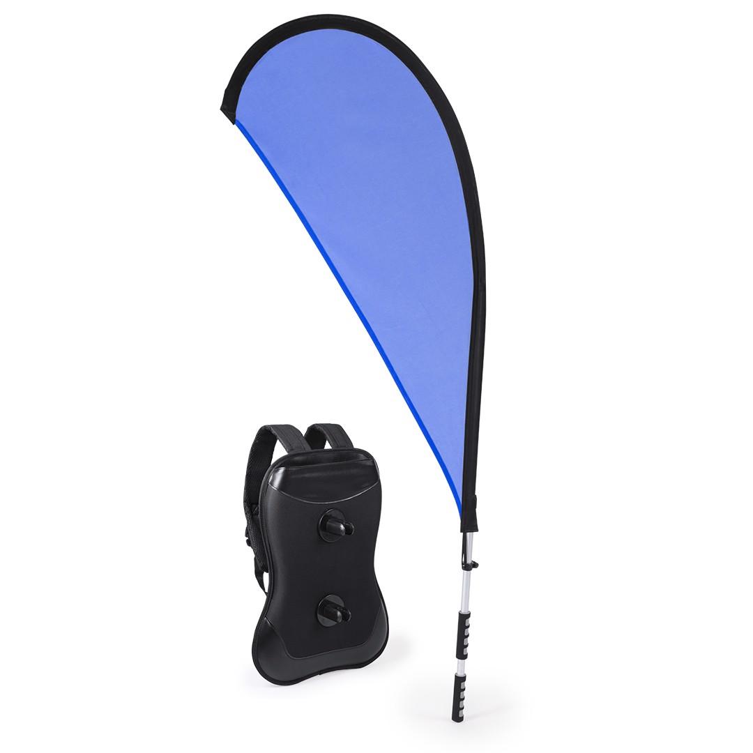 Mochila Portabandera Heldex - Azul