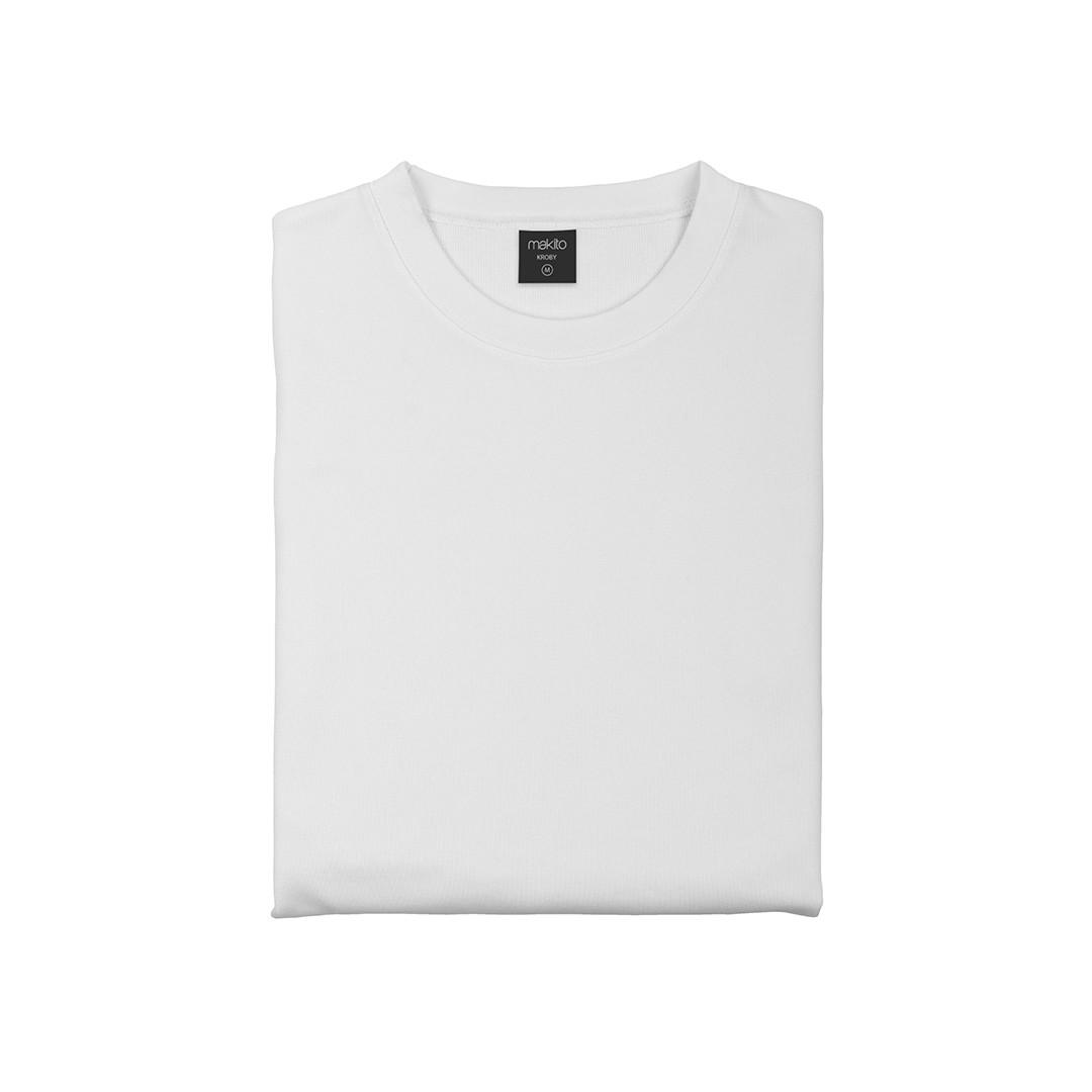 Sudadera Técnica Adulto Kroby - Blanco / M