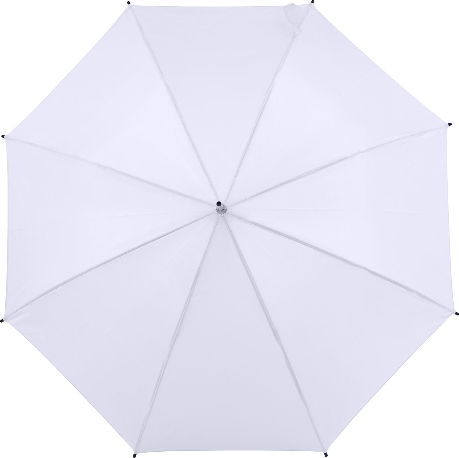 Polyester (190T) umbrella - White
