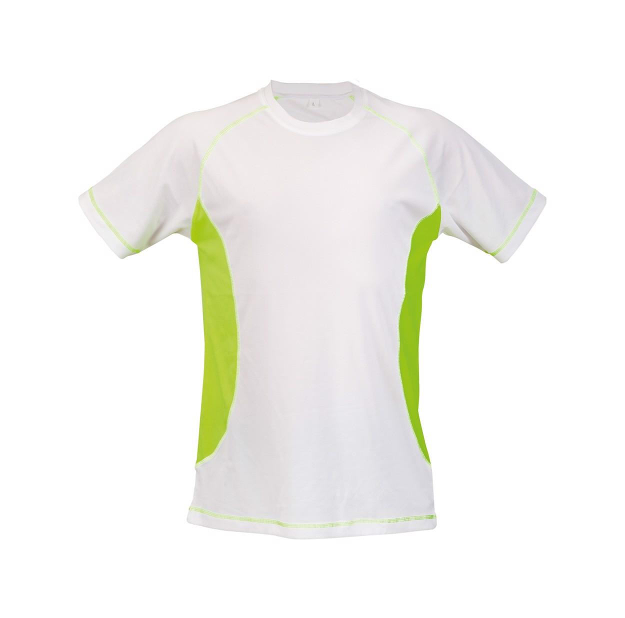 Tričko Combi - Fluorescenční Žlutá / Bílá / L