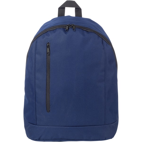 Boulder vertical zipper backpack - Navy