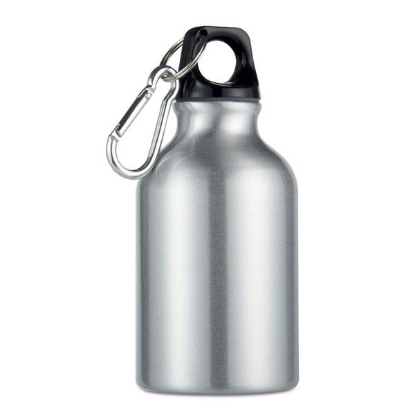 Aluminium bottle 300 ml Moss - Matt Silver
