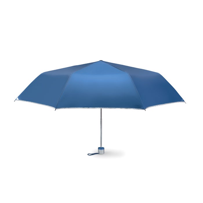 Foldable umbrella Cardif - Blue