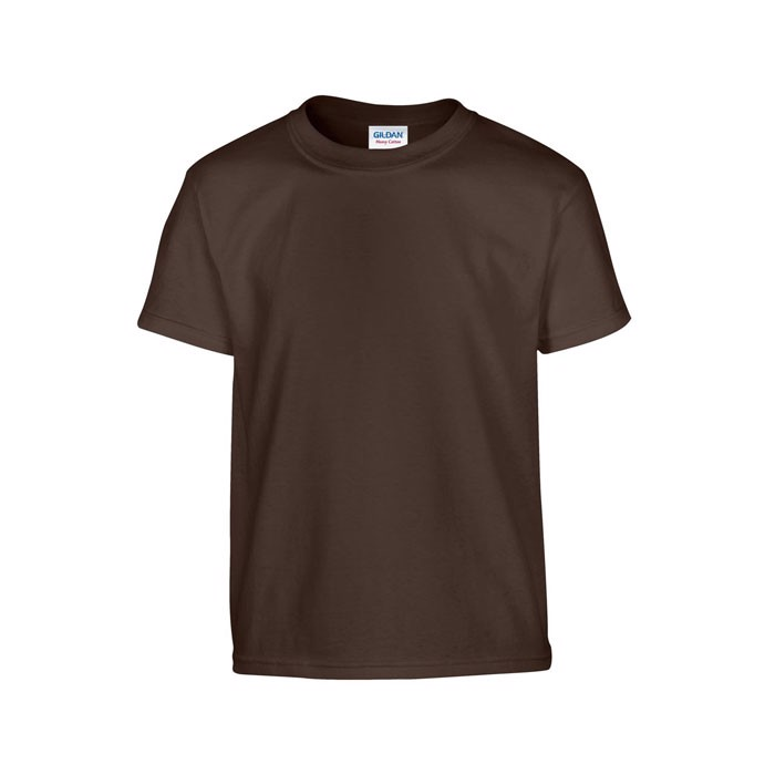 Youth t-shirt 185 g/m² Heavy Youth T-Shirt 5000B - Dark Chocolate / L