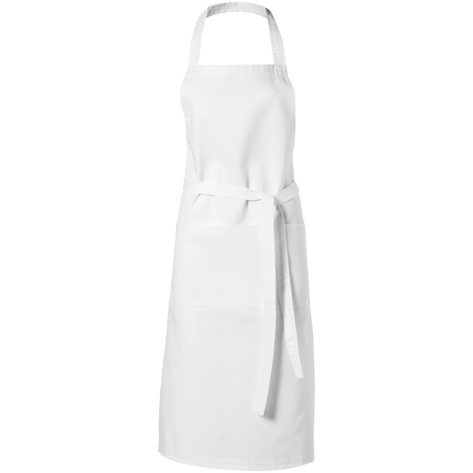 Viera apron with 2 pockets - White