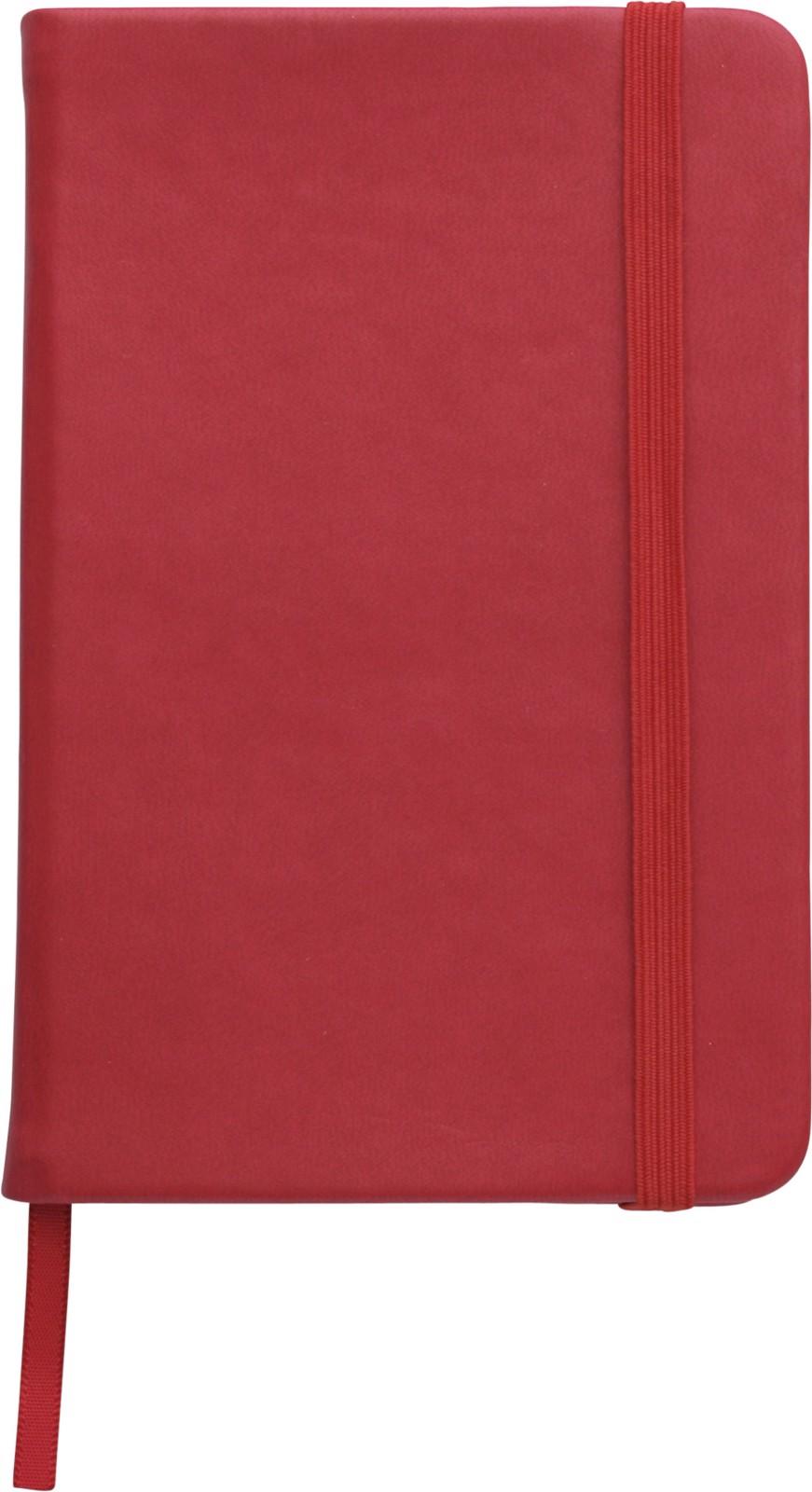 PU notebook - Red