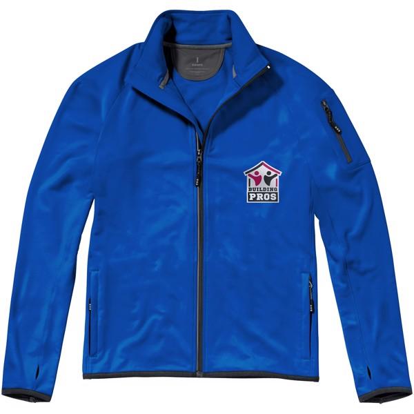Mani men's performance full zip fleece jacket - Blue / S