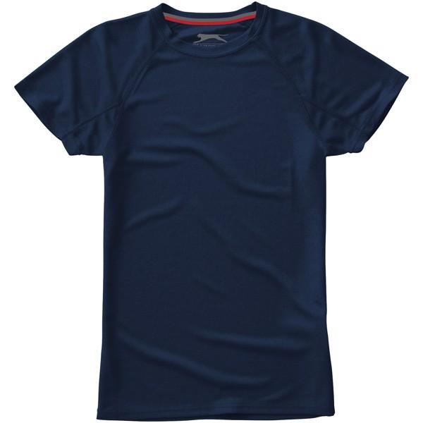 Dámské triko Serve s krátkým rukávem, s povrchovou úpravou - Navy / XXL