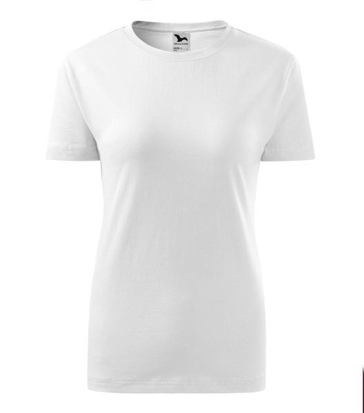 Tričko dámské Malfini Classic New - Bílá / XS