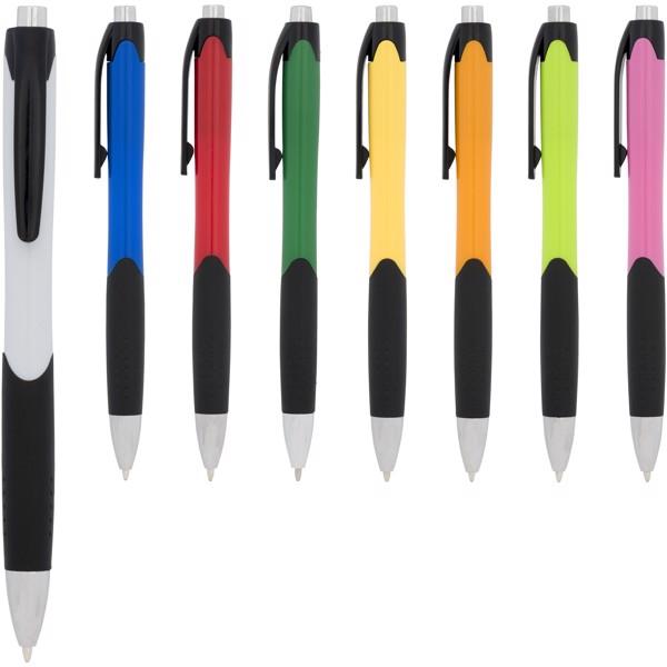 Kuličkové pero Tropical - Červená s efektem námrazy